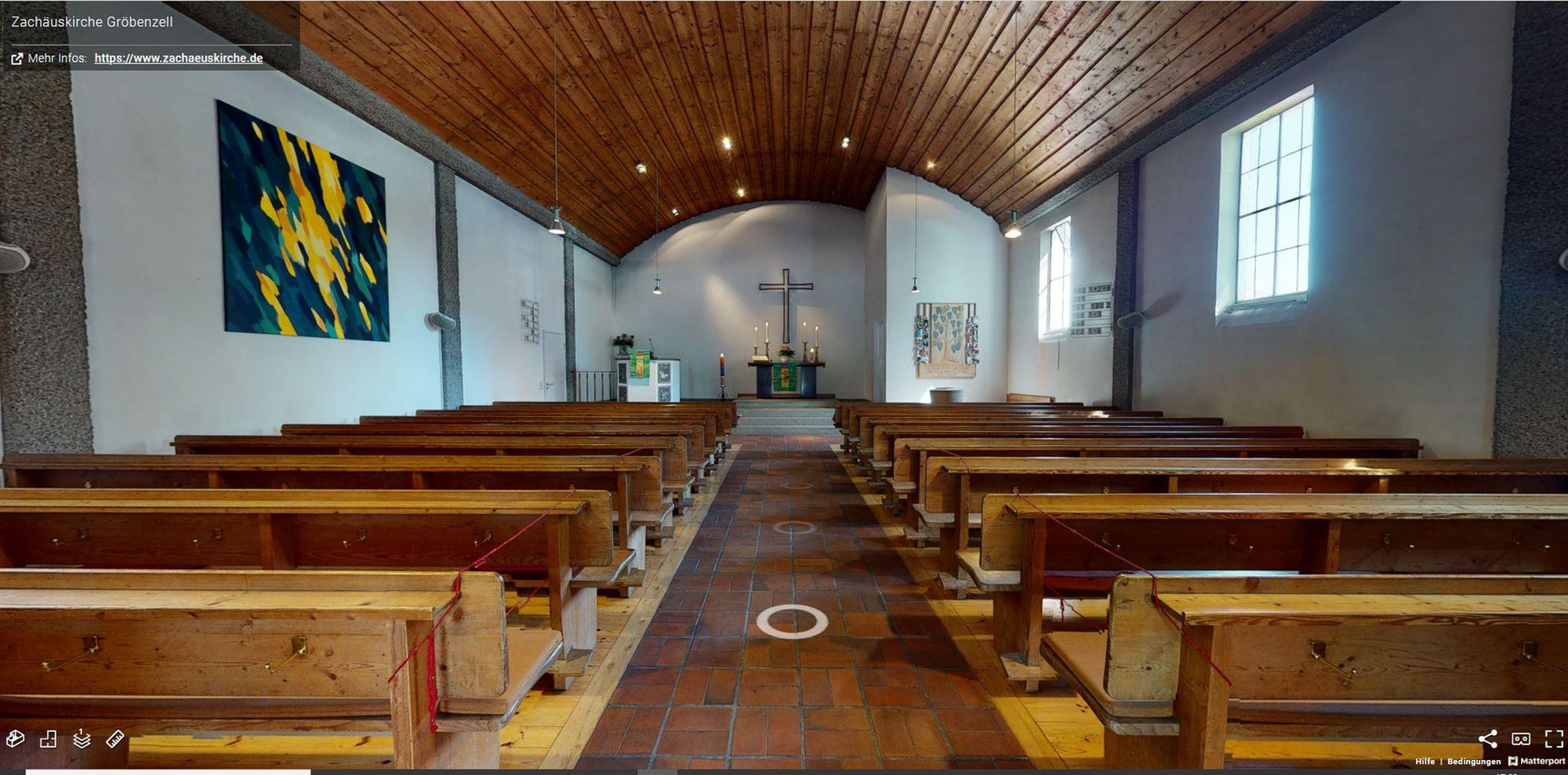Virtueller Kirchenrundgang